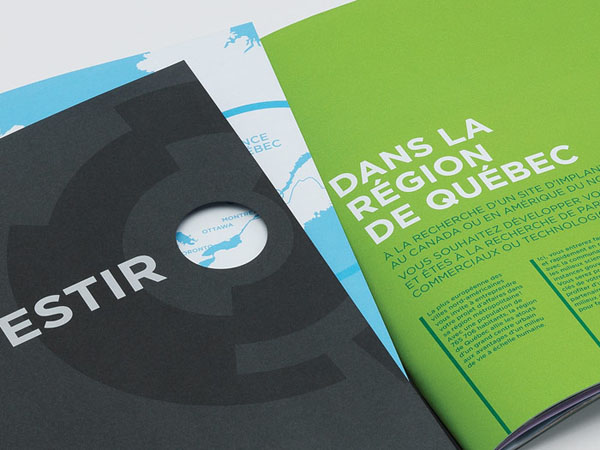 Québec International - Investors Brochure - Creative Design by lg2boutique