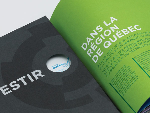 Québec International - Investors Brochure - Print Design by lg2boutique