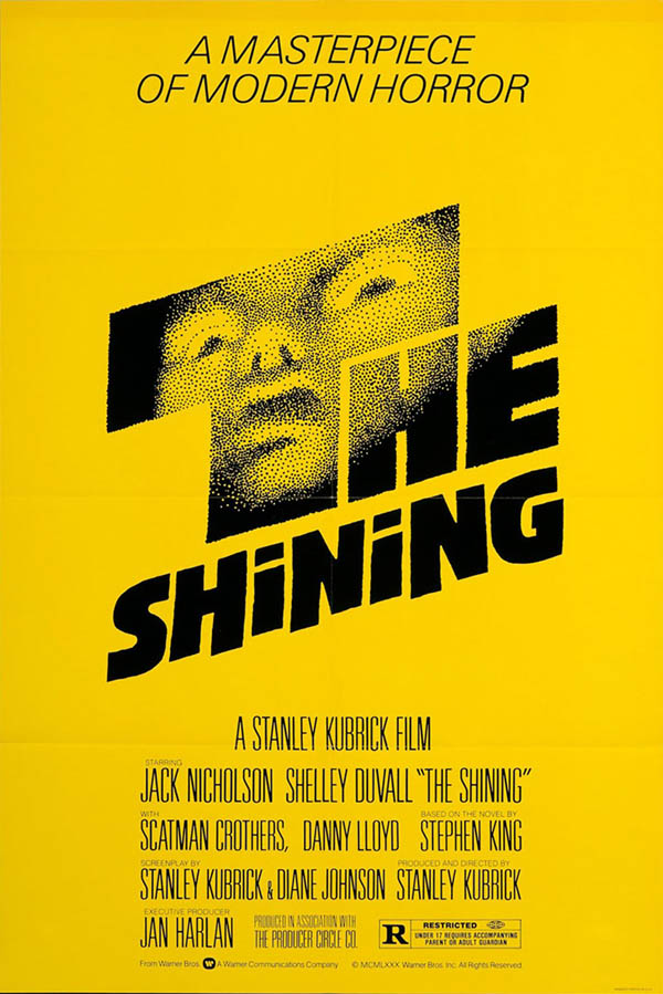 Saul-Bass - The Shining Movie Poster