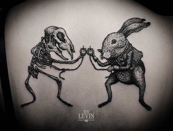 Tattoo Illustration by Ien Levin