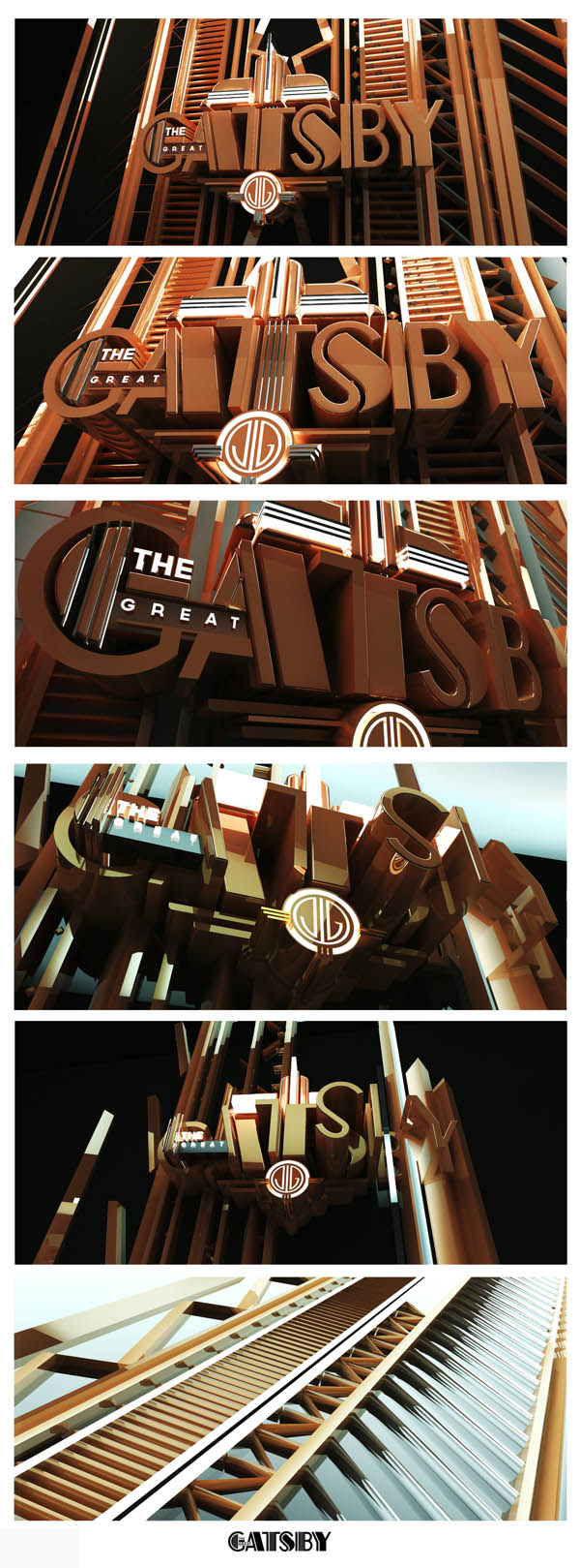 The Great Gatsby  - 3D Opening Sequence