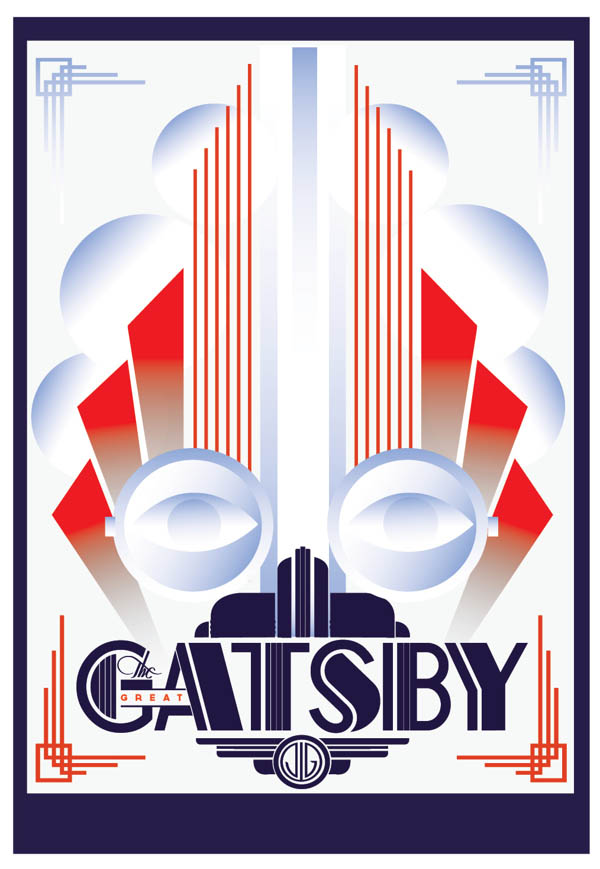 The Great Gatsby  - Movie Poster Design by Like Minded Studio