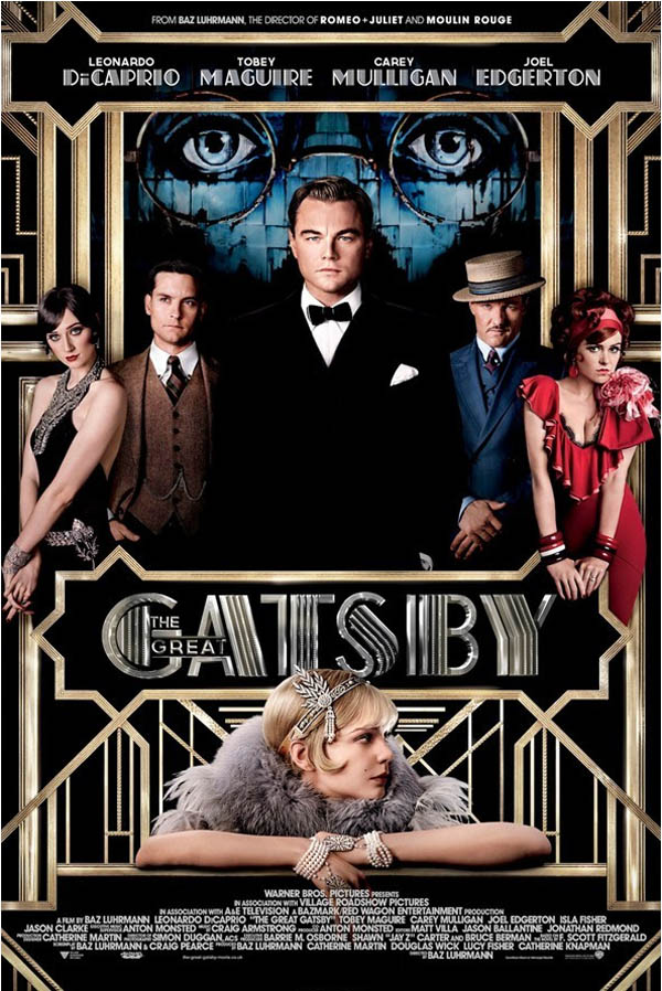 The Great Gatsby  - Official Movie Poster Design by Like Minded Studio