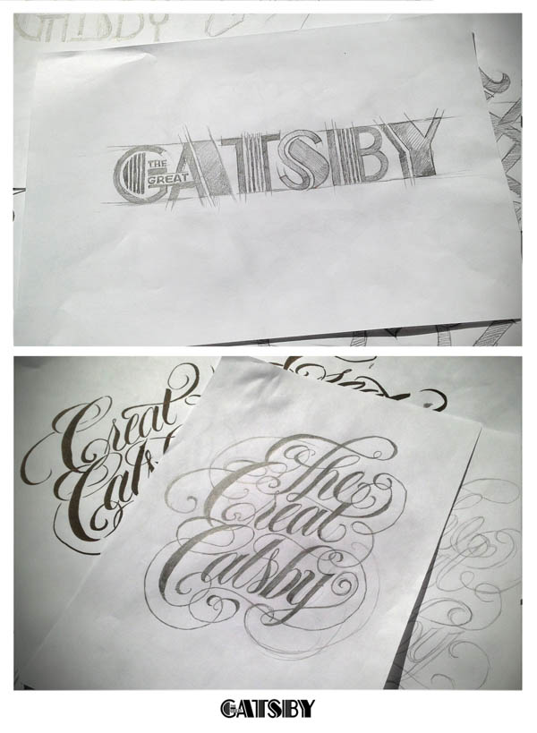 The Great Gatsby  - Typeface Scribbles