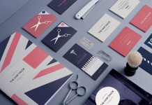 The Hair Tailor - British hair and fashion stylist brand identity by Pete Gardner