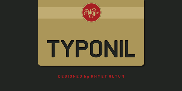 Typonil - Sans Font Family by Ahmet Altun