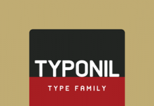 Typonil - Sans Serif Font Family by Ahmet Altun