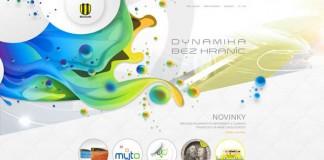 Web Design Concept for an Oil Rafinery in Slovakia Provoco