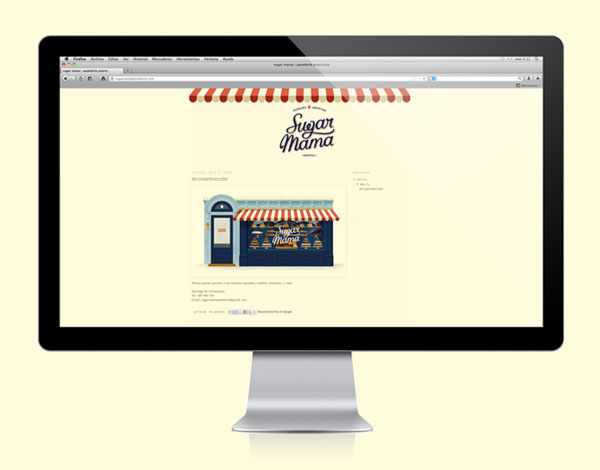 Website Design by David Sierra for Sugar Mama