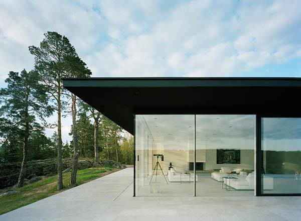 verby summer house minimalist architecture by john robert nilsson arkitektkontor - Minimalist Architecture Houses