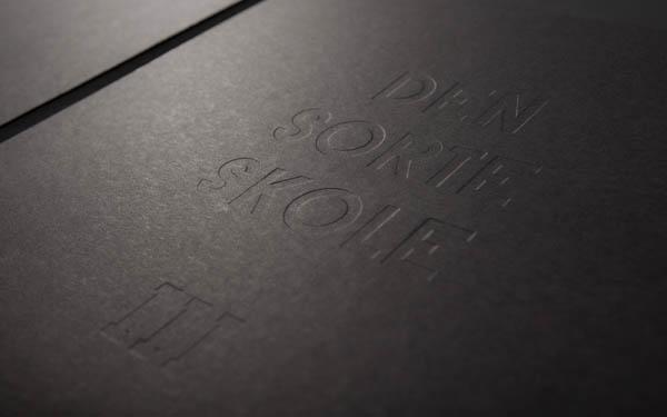 The Black School - Lektion III - Album Cover Design by Re-public