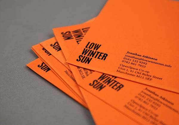 Low Winter Sun - Brand Identity by Because Studio