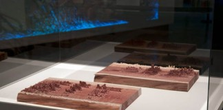 Spectral Density Estimation — 2013 - Cnc milled sound data visualization sculptures by Nicolas Fisher