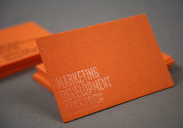 Low Winter Sun - Business Cards by Because Studio