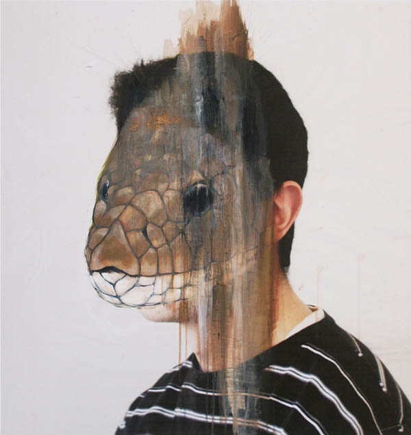 Acrylic Animal Portraits on Photos by Charlotte Caron