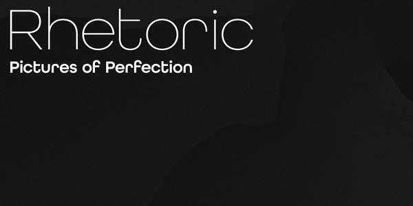 All Round Gothic - Monoline Typeface Design