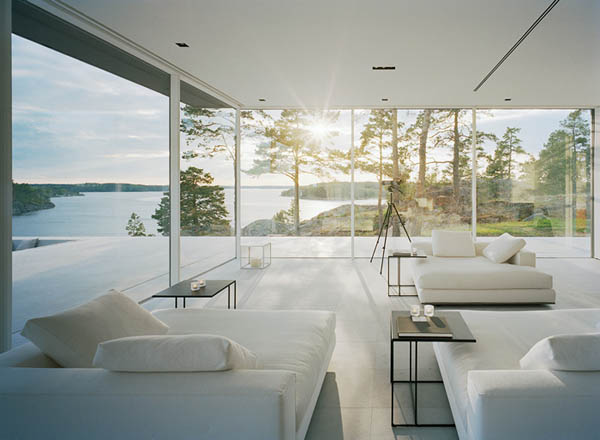 Amazing living room and view of the landscape