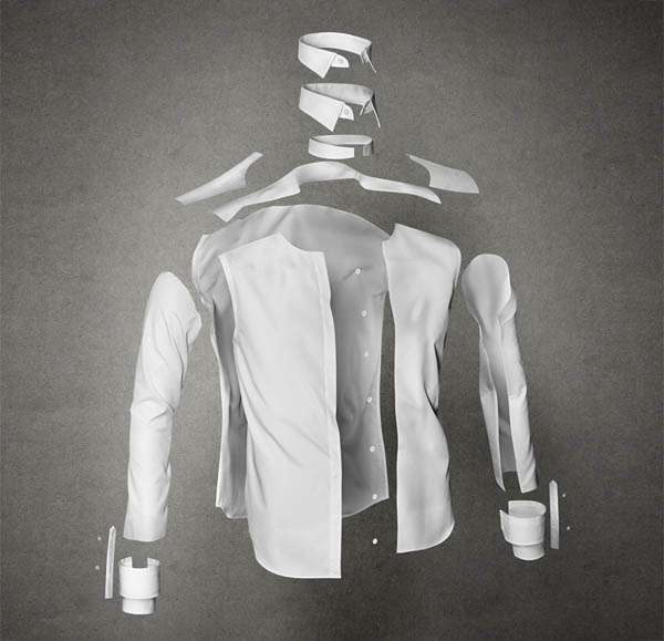Anatomy of a shirt - Design by Bold