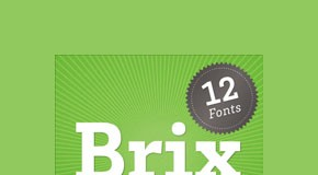 Brix Slab Type Family by HVD Fonts