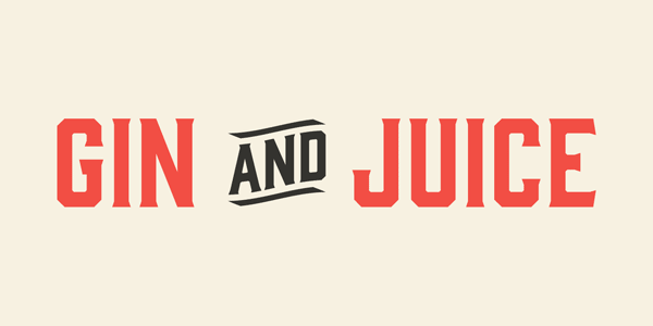 This is a stylish typeface inspired by old serifs and whiskey or gin labels.