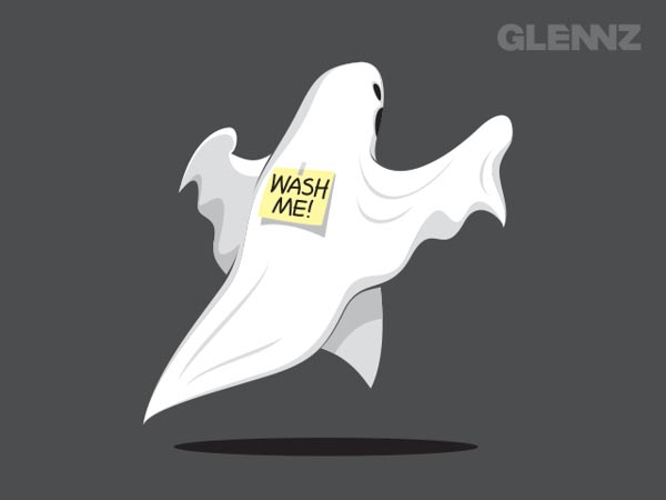 Haunted Humor - Illustration Concept for Glennz Tees