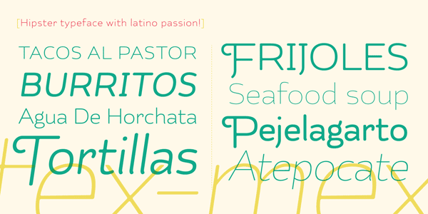 Kahlo Rounded Hipster Typeface by Latinotype