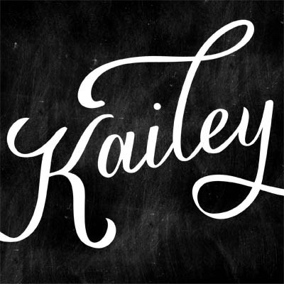 kailey script font hand lettered typeface by great lakes