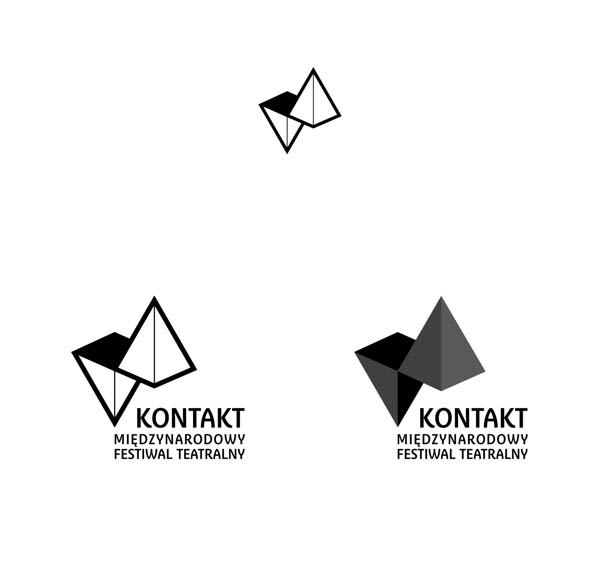 Kontakt – International Theatre Festival - Logo Design by Radek Staniec