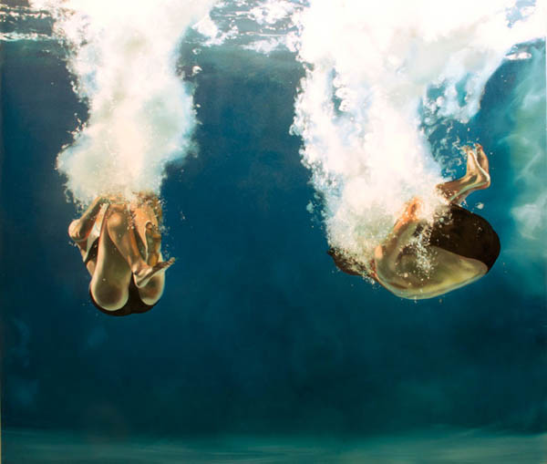 Love - oil on canvas by Eric Zener