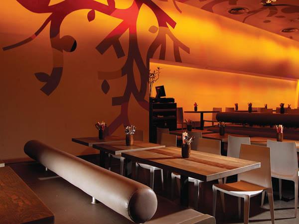 Minna Tomei - Asian Kitchen - Restaurant Interior Design