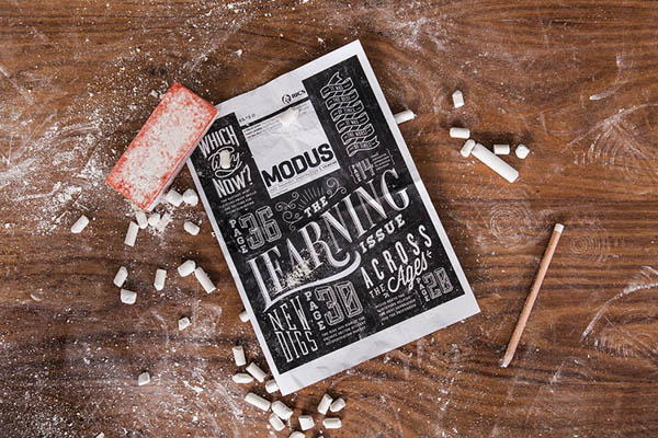 Modus Magazine Cover by Coming Soon