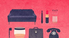 Movies Hipster Kits - Minimalist Poster Illustrations by Alizée Lafon