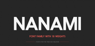 Nanami Font Family by Thinkdust