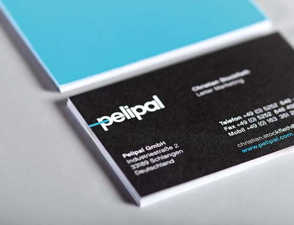 Pelipal Business Card Design by Hatch Berlin