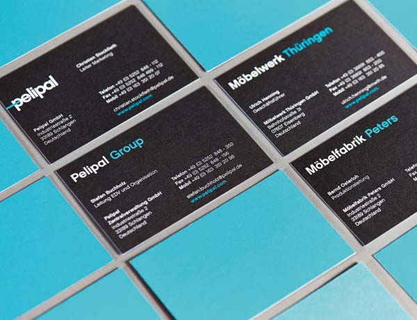 Pelipal Business Cards by Hatch Berlin