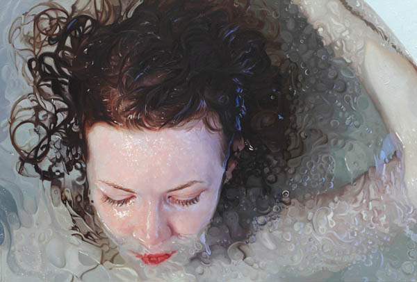 Reserve oil painting on linen by Alyssa Monks, 2011