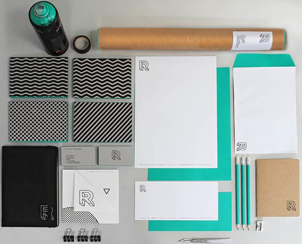 Revert Design – Studio Brand Identity by Trevor Finnegan