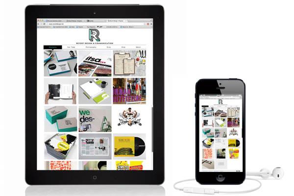 Revert Design - Website