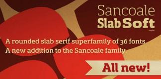 Sancoale Slab Soft – Serif Font Family by Insigne