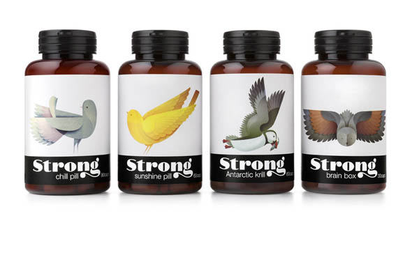 Strong - Packaging Design by Pearlfisher