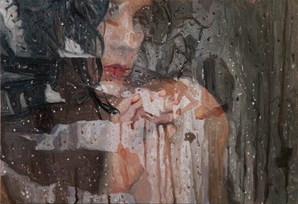 Swipe - Study from 2012 -oil painting on panel by Alyssa Monks