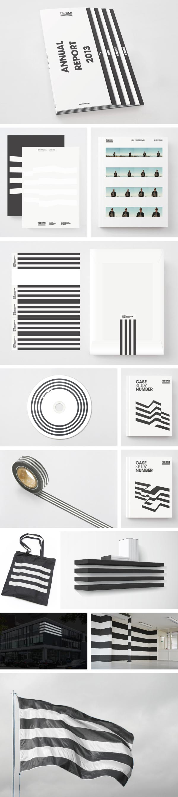 TIN CAN Identity - graphic design by Leon Dijkstra