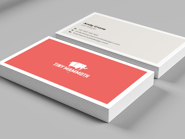 Tiny Mammoth - Business Cards