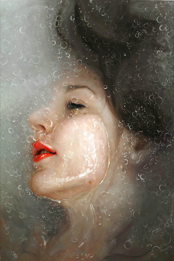 Tonic - oil painting on linen by Alyssa Monks, 2011