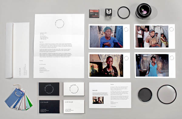 Visual Identity for Photojournalist Nick Kozak