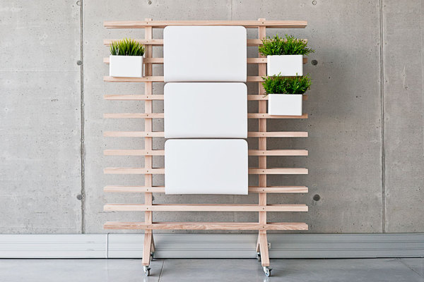 Worknest - Modular workplace - Furniture Design by Wiktoria Lenart