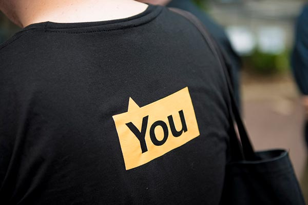WalkNYC Wayfinding System - T-Shirt Back