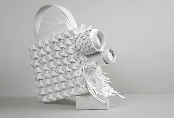 28th Cinema Jove Film Fest - Papercraft Camera Design by Casmic Lab