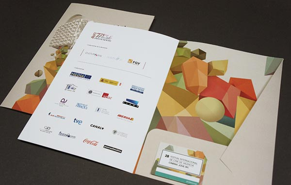 28th Cinema Jove Film Fest - Printed Collateral Design by Casmic Lab