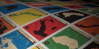 Atlas Maps Countries A to Z Alphabet Print by 67 Inc